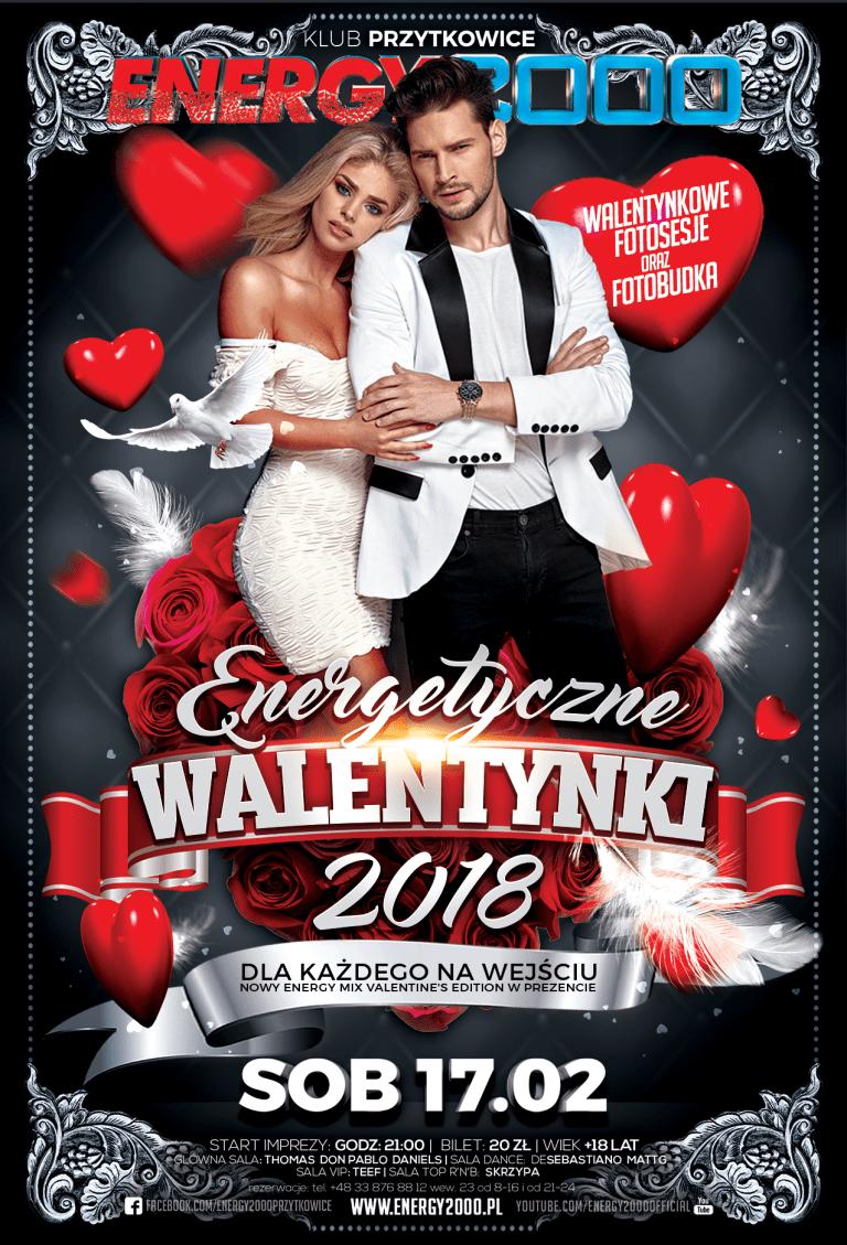 WALENTYNKI 2018 – Noc Zakochanych!