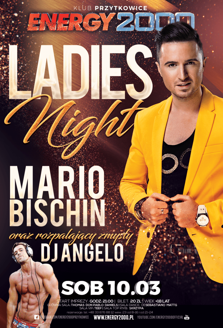 LADIES NIGHT – MARIO BISCHIN & DJ ANGELO