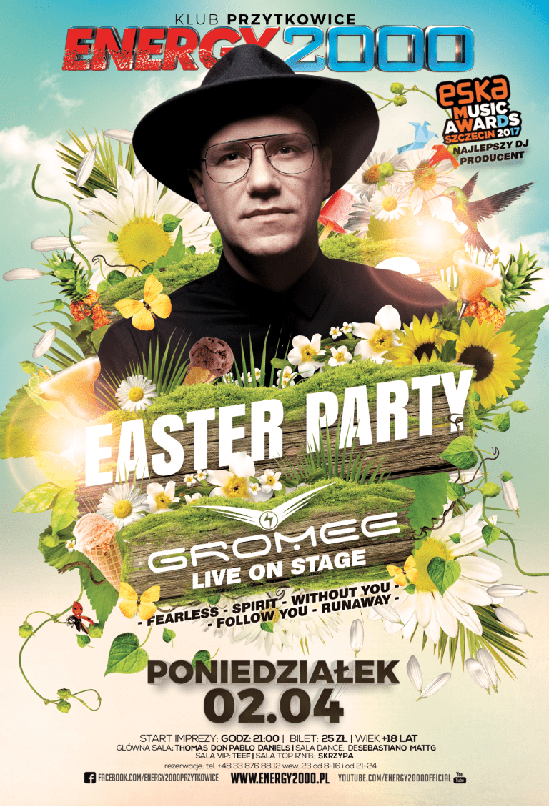 EASTER PARTY – GROMEE – Live Mix