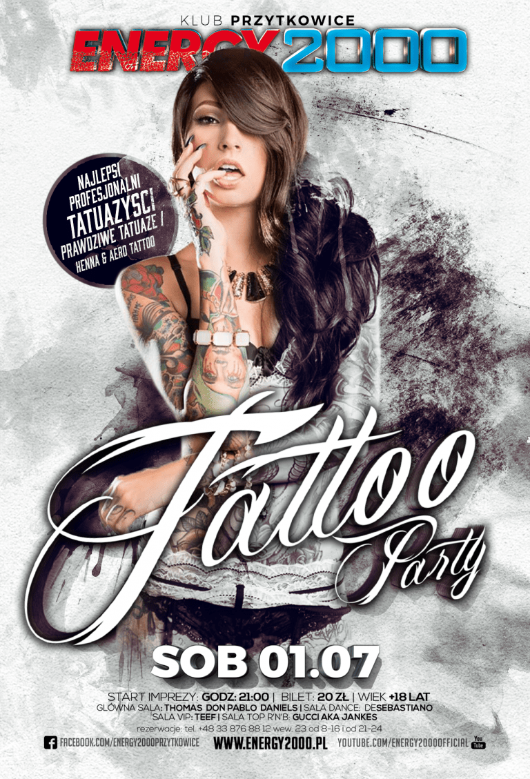 TATTOO NIGHT – Noc Tatuaży