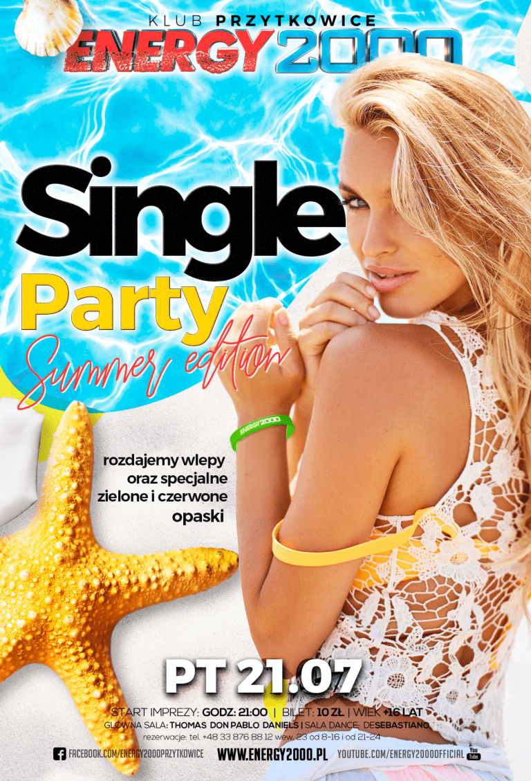 SINGLE PARTY – Summer Edition