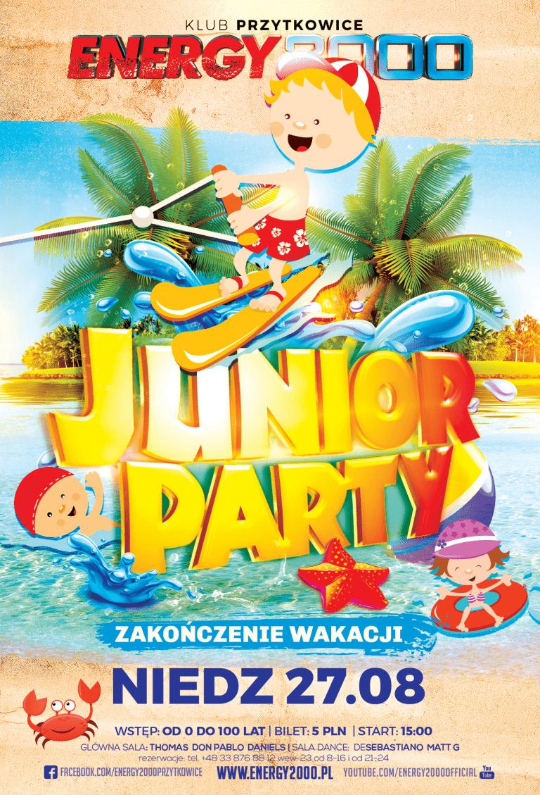 JUNIOR PARTY – Zakończenie Wakacji 2017