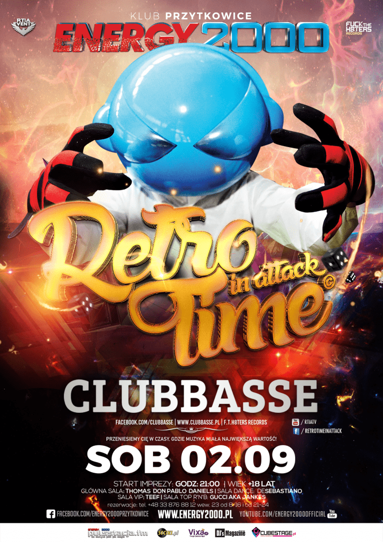 CLUBBASSE pres. Retro Time In Attack