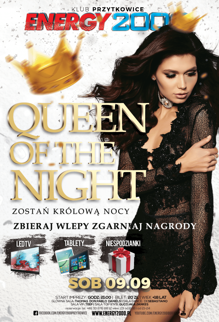 QUEEN OF THE NIGHT – Królowa Nocy