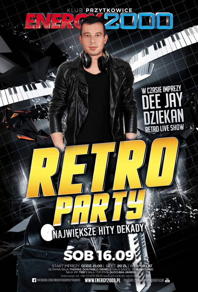 RETRO PARTY – DJ Dziekan Retro Live Mix