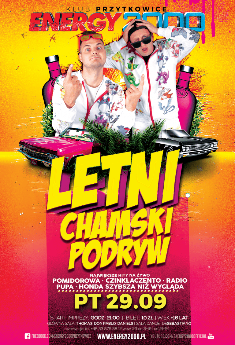 LETNI CHAMSKI PODRYW – Live On Stage