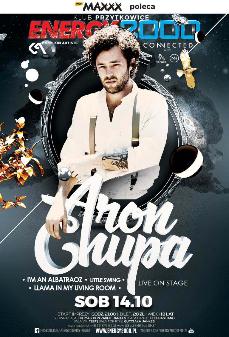 ARONCHUPA – World Tour 2017