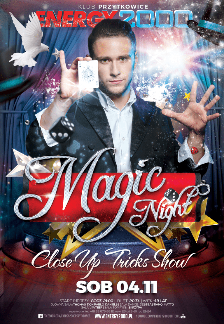 MAGIC NIGHT – Noc Iluzjonistów