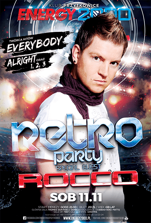 RETRO PARTY pres. DJ ROCCO
