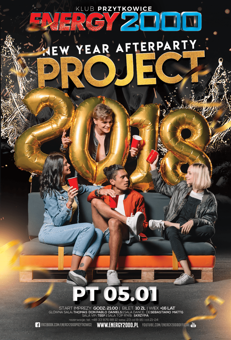 PROJECT 2018! – New Year Afterparty!