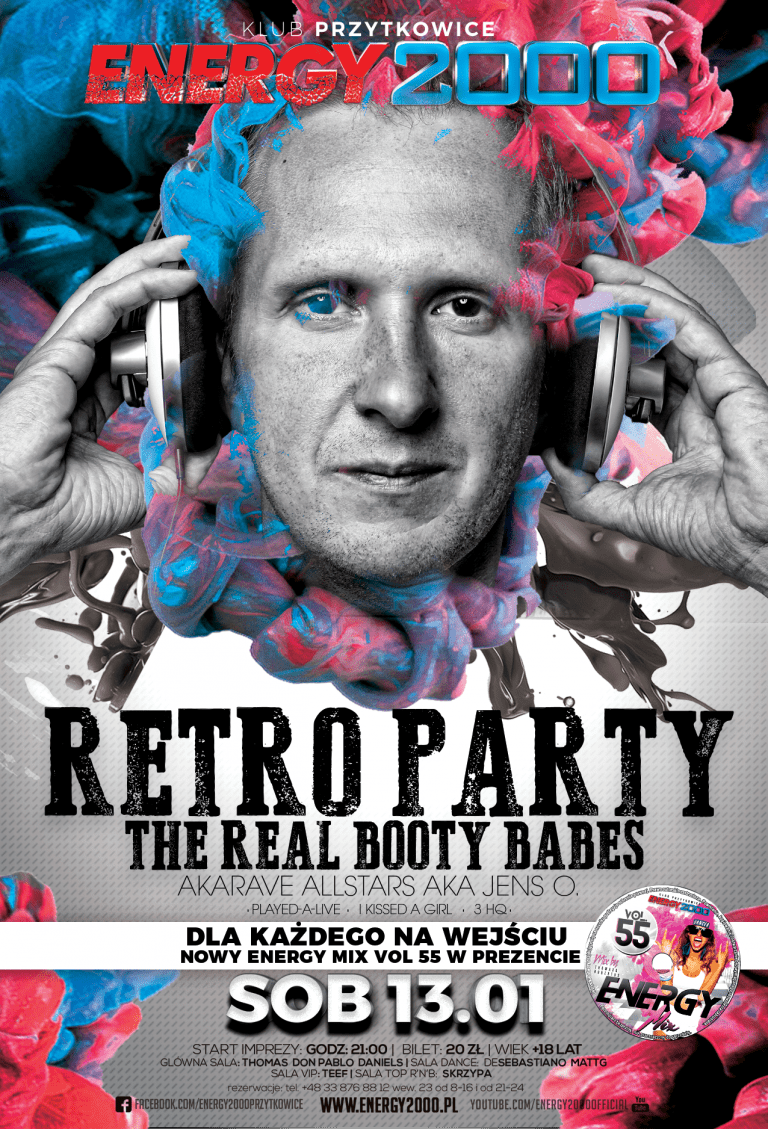 RETRO PARTY pres. The Real Booty Babes
