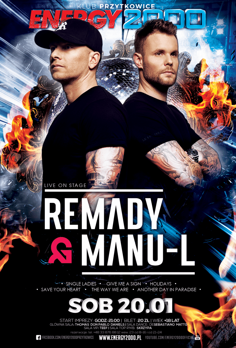 REMADY & MANU-L – Live On Stage
