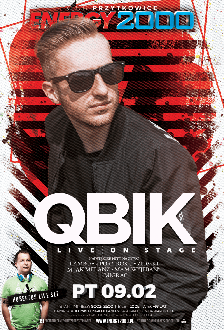 QBIK – Live On Stage & Hubertus & Grey Secret Show