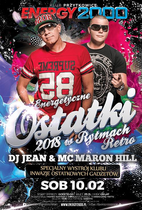 Ostatki RETRO – Dj Jean & MC Maron Hill
