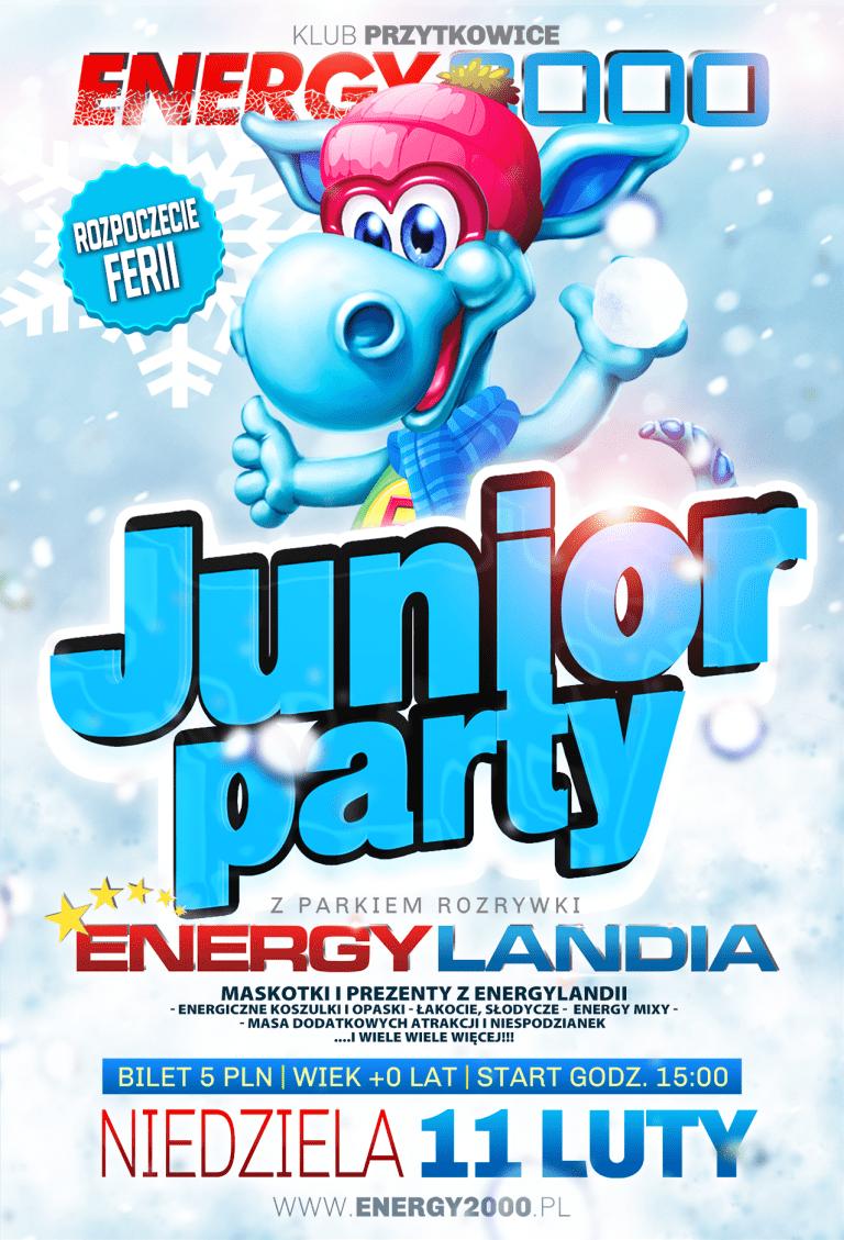 JUNIOR PARTY z Parkiem Rozrywki EnergyLandia