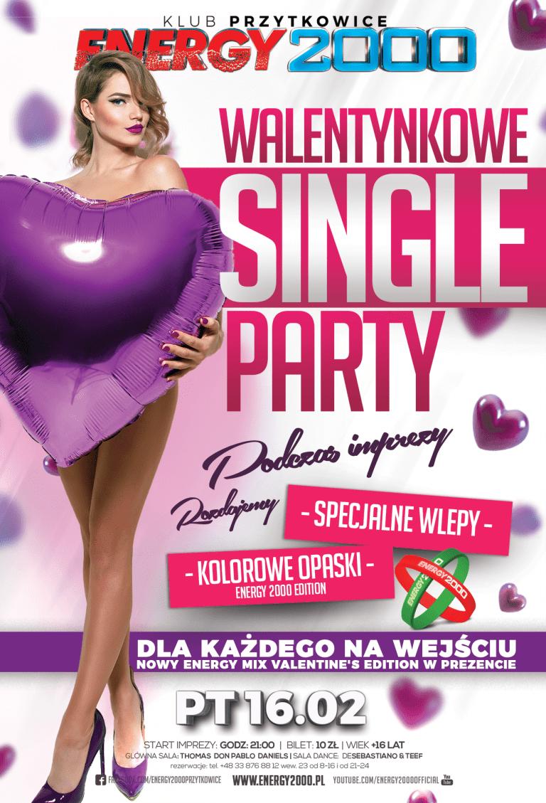 SINGLE PARTY – Edycja Walentynkowa