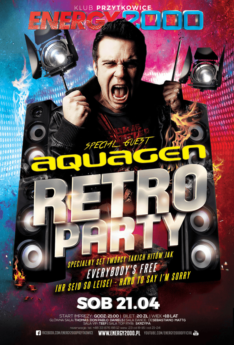RETRO PARTY ★ Aquagen