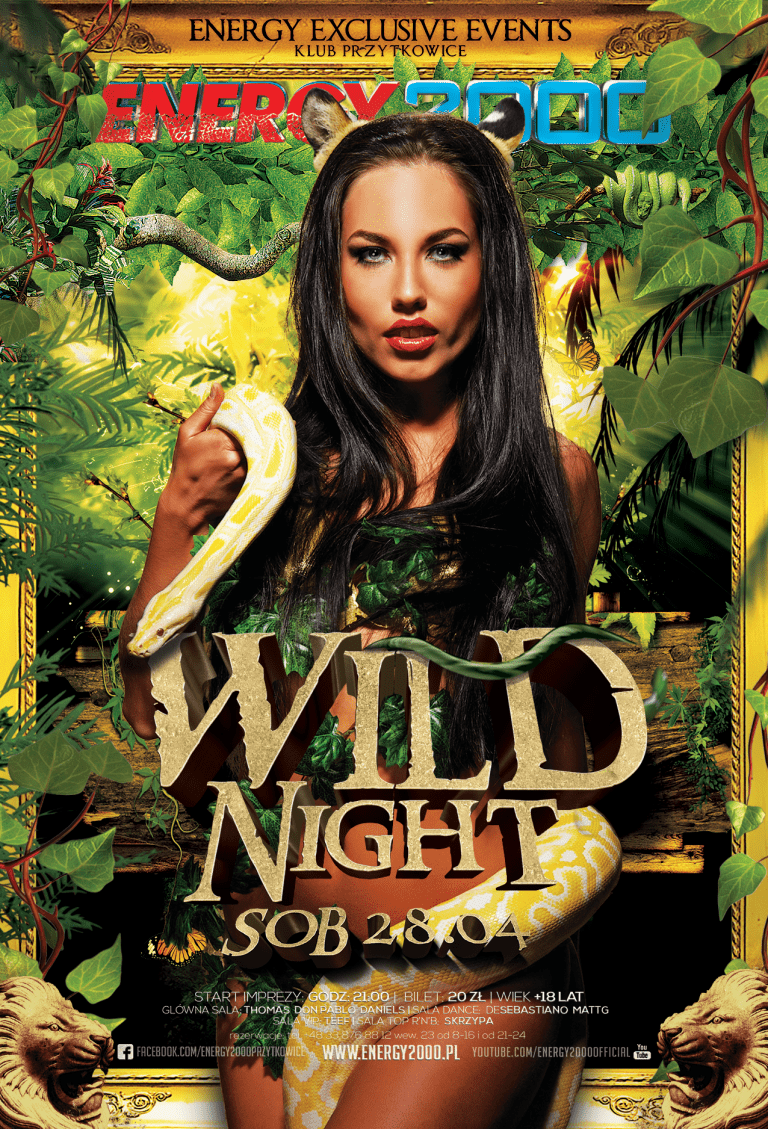 WILD NIGHT ★ Energy Exclusive Events