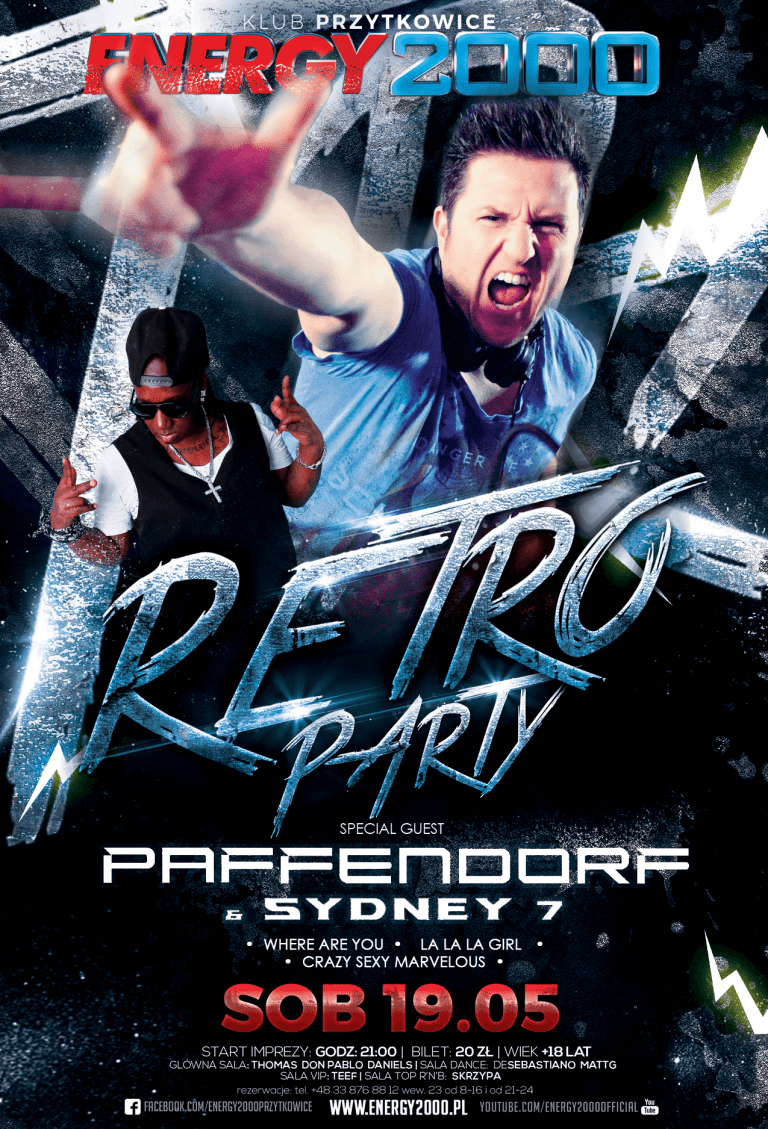 RETRO PARTY ★ Paffendorf & Sydney 7