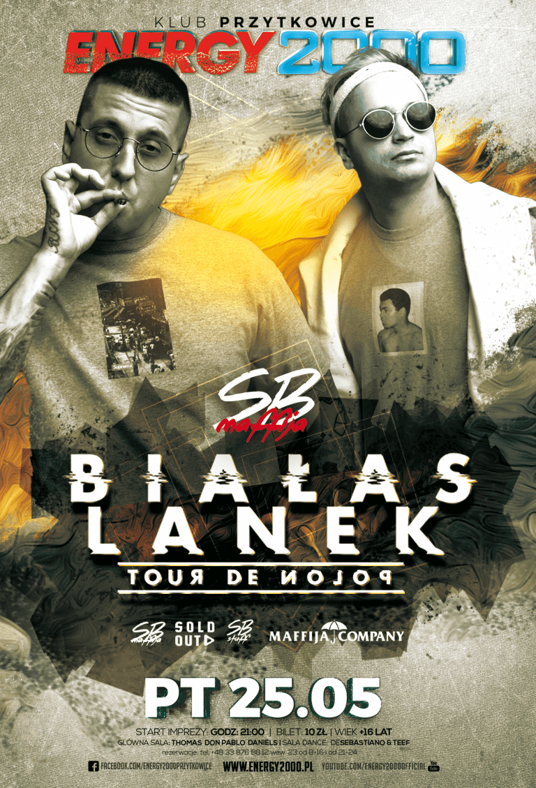 Białas & Lanek ★ SB Maffija ★Hip Hop Night
