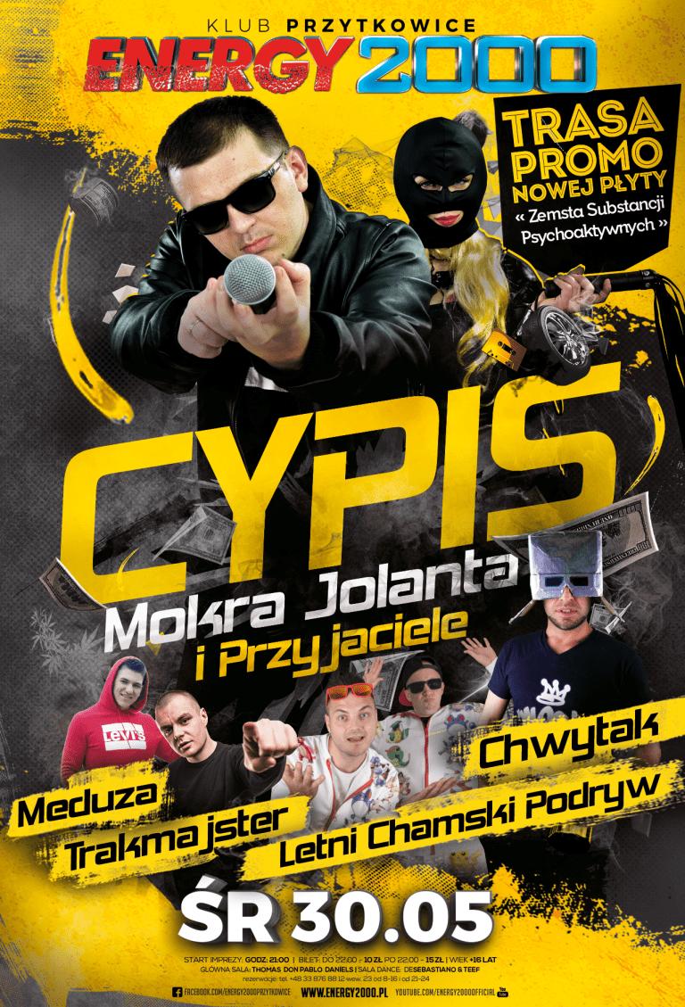 CYPIS & Mokra Jolanta i Przyjaciele ★ Środa