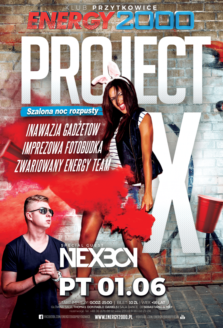 PROJECT X ★ NEXBOY – Live Mix