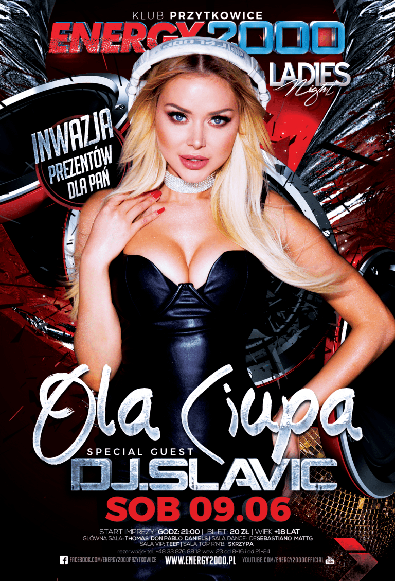 OLA CIUPA ☆ DJ Slavic ☆ Ladies Night