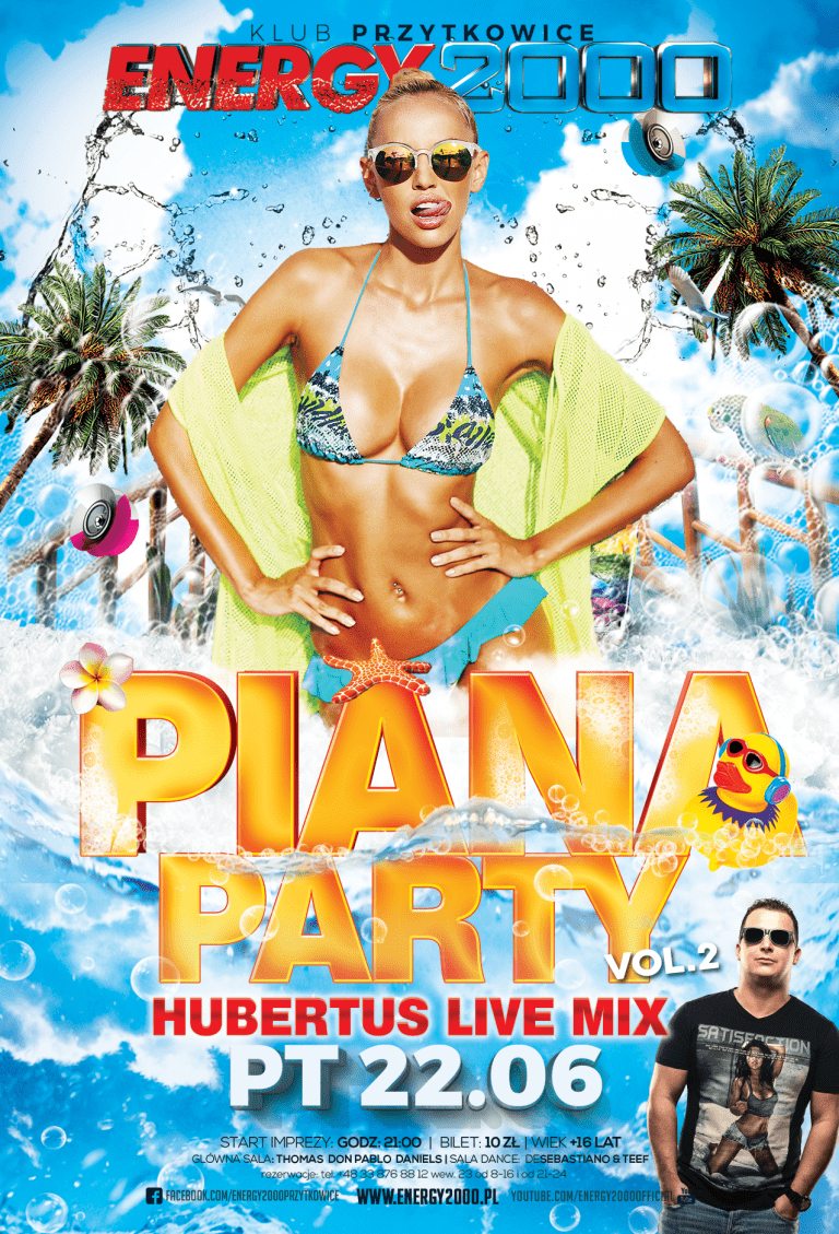 PIANA PARTY VOL.2 ★ DJ HUBERTUS – Live Mix