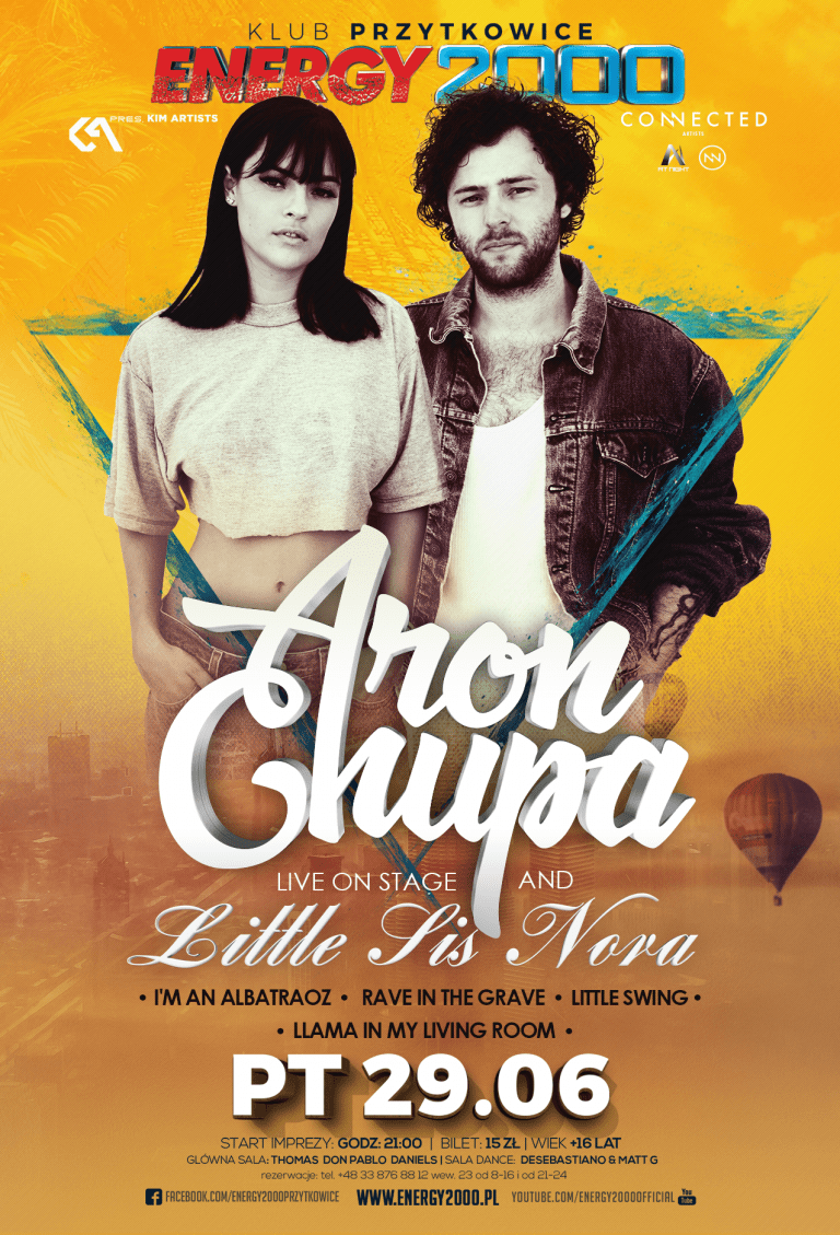ARON CHUPA & LITTLE SIS NORA ★ World Tour