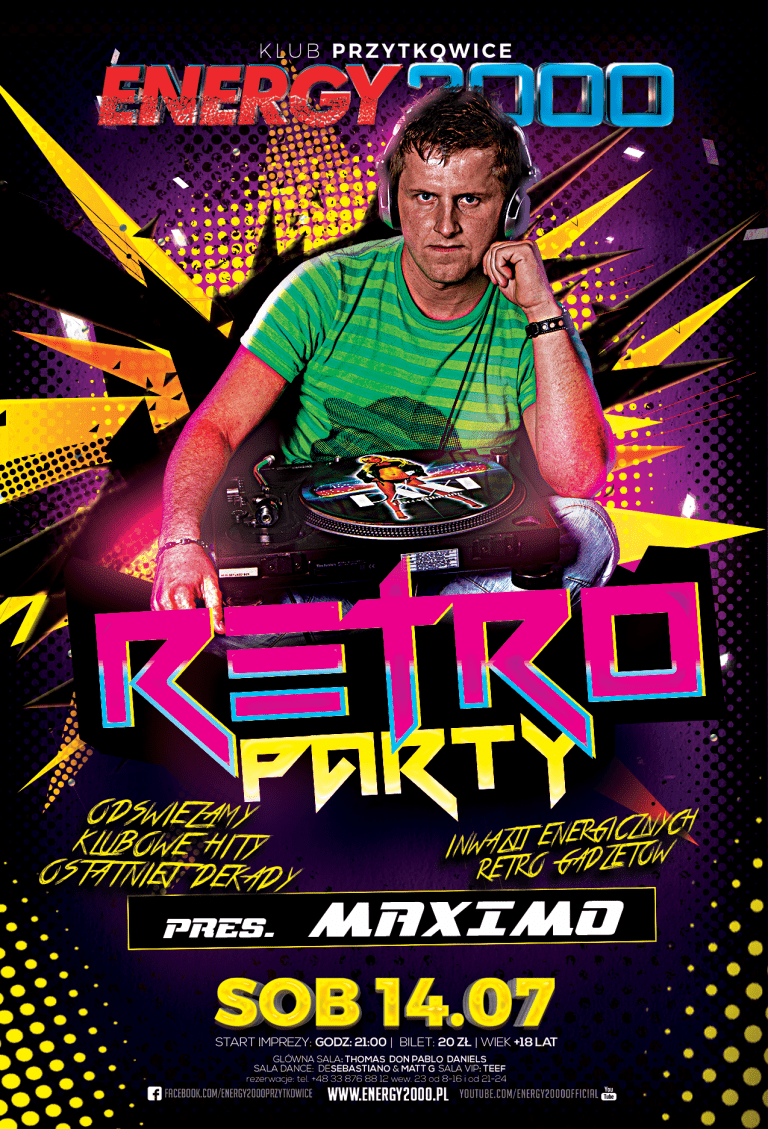 RETRO PARTY ★ DJ MAXIMO