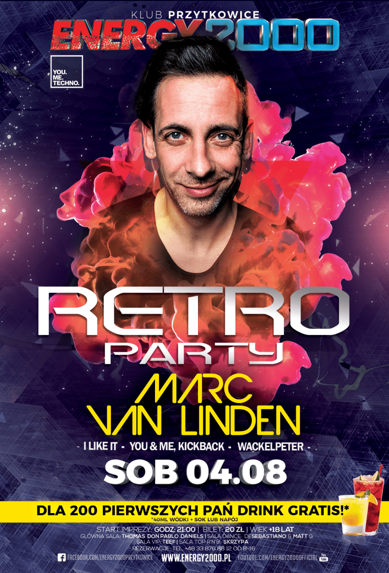 RETRO PARTY ★ Marc van Linden