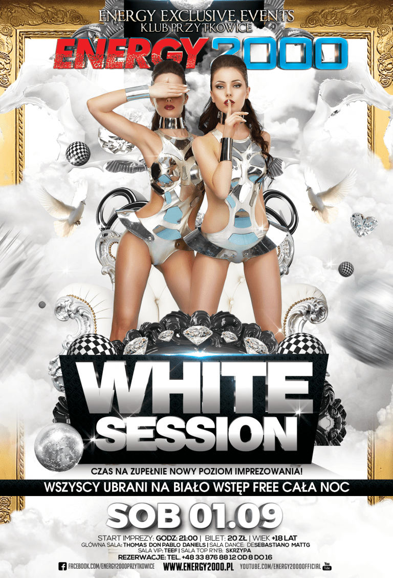 WHITE SESSION ★ Energy Exclusive Events