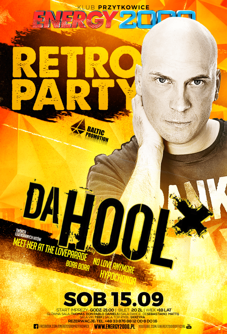 RETRO PARTY ★ DA HOOL ★ Live Mix