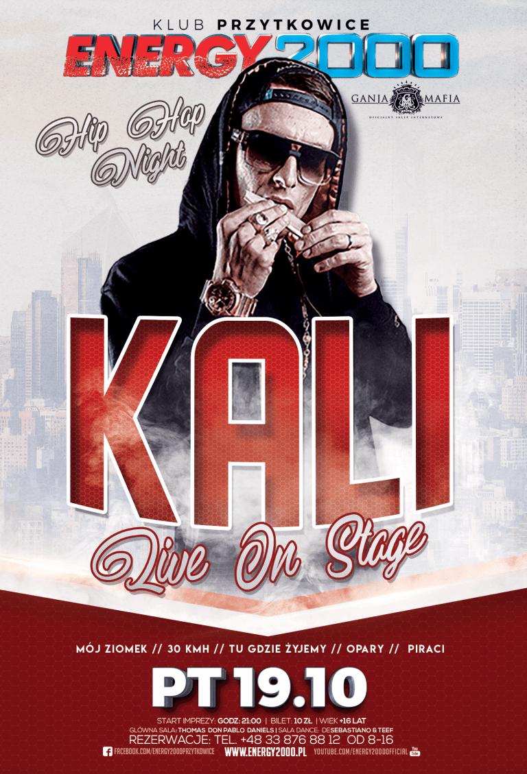KALI ★ Live On Stage ★ Hip-Hop Night