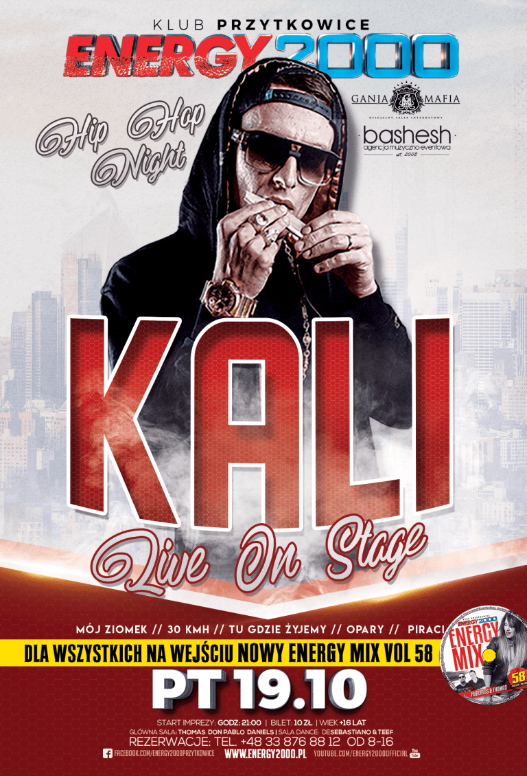 KALI ★ Live On Stage ★ Hip-Hop Night