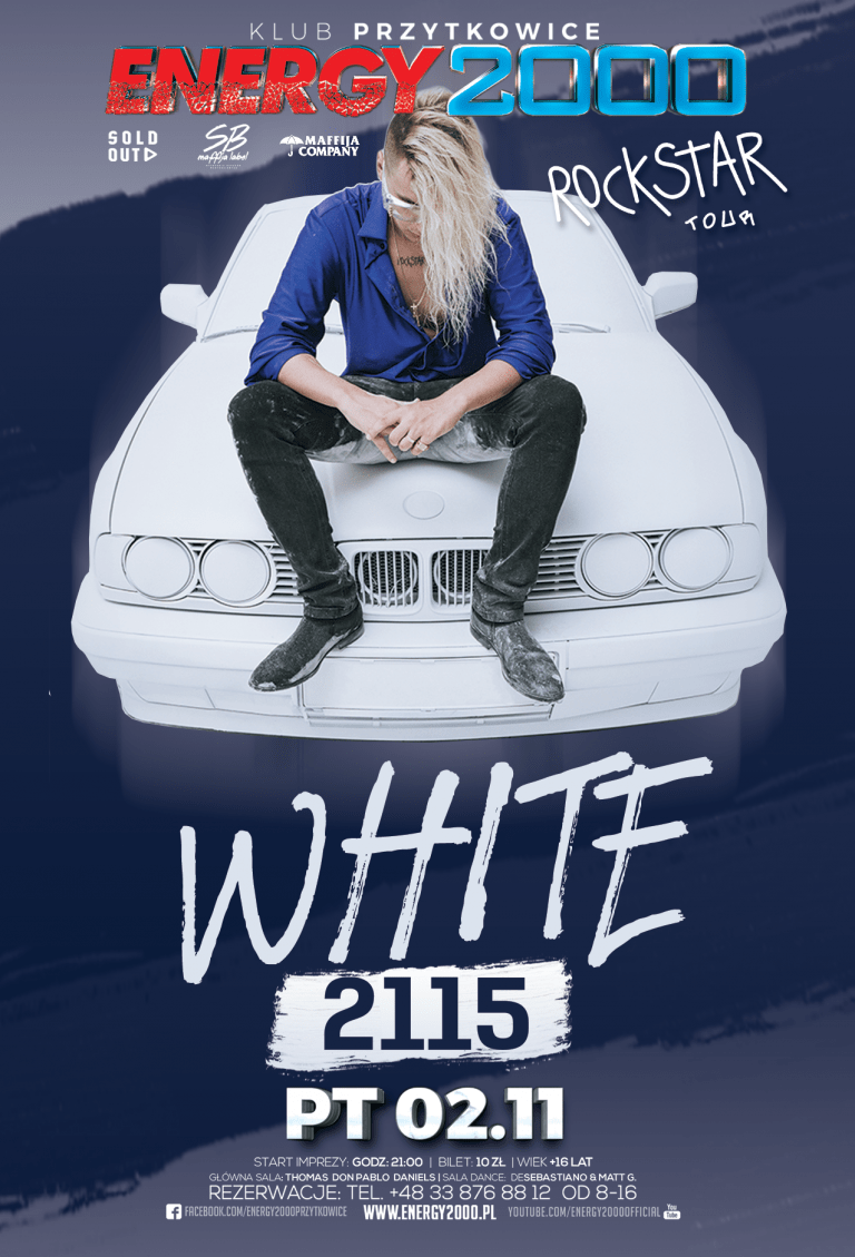 WHITE ☆ 2115 ☆ Hip-Hop Night