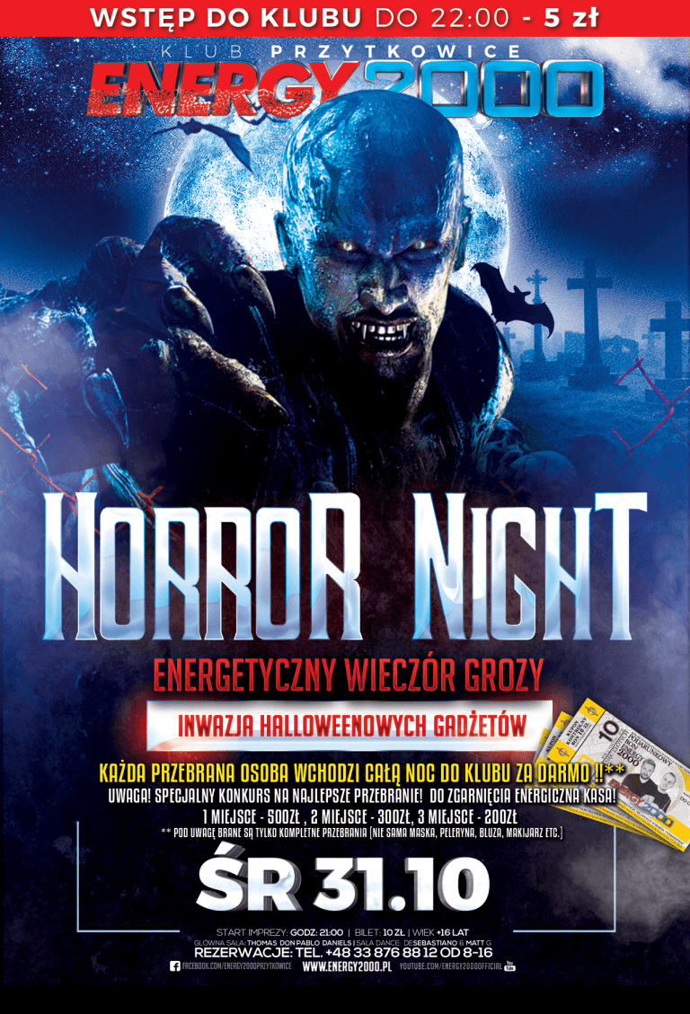 HORROR NIGHT ☆ NOC GROZY
