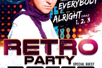 Dj Rocco – Retro Party ★ Markus P – Koncert Sala Dance