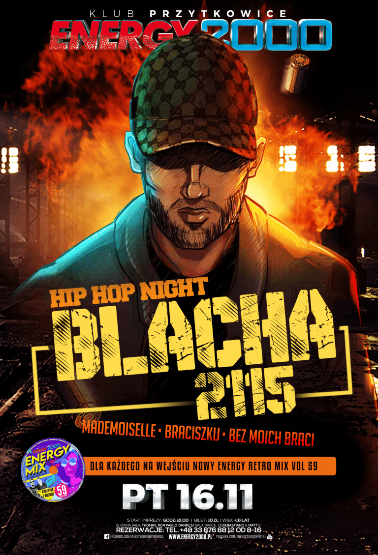Blacha ★ 2115 ★ Hip-Hop Night