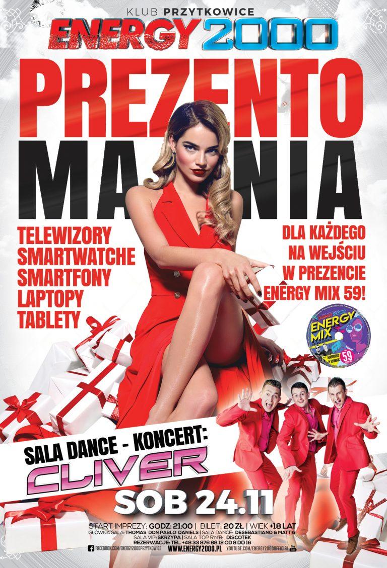 Prezentomania ★ Cliver – Koncert Sala Dance