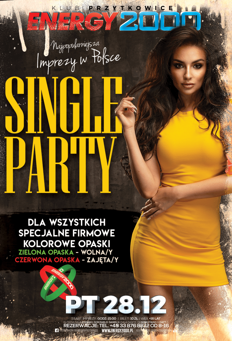 SINGLE PARTY ★ OSTATNI MELANŻ 2018!