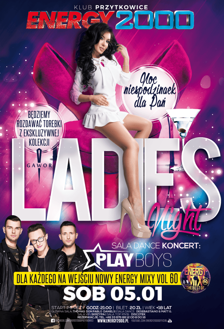 Ladies Night ★ Koncert Playboys