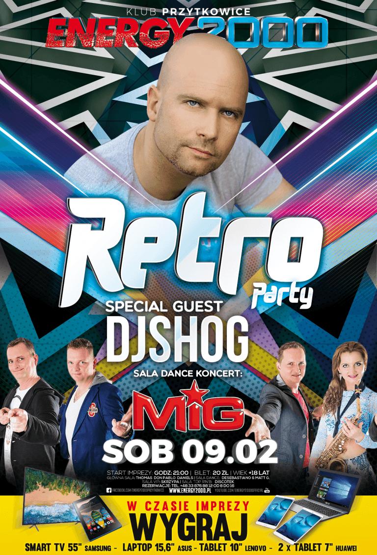 RETRO PARTY ★ DJ SHOG ★ ZESPÓŁ MIG