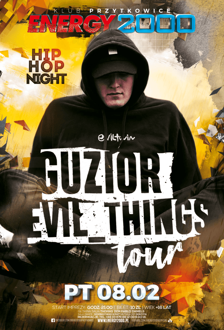 GUZIOR ★ HIP HOP NIGHT