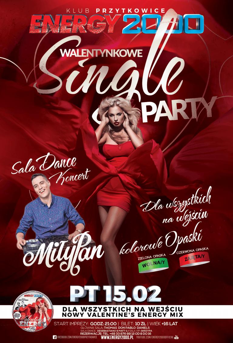 Walentynkowe Single Party ★ MiłyPan