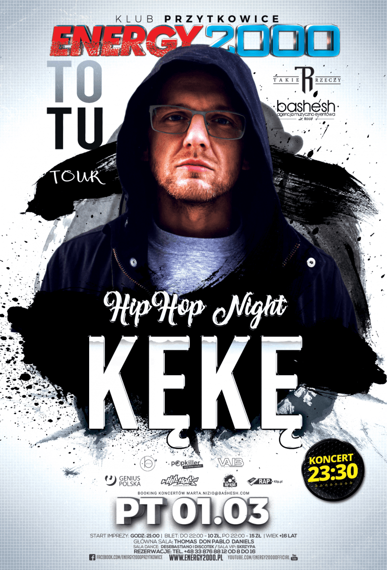 KĘKĘ ★ HIP HOP NIGHT