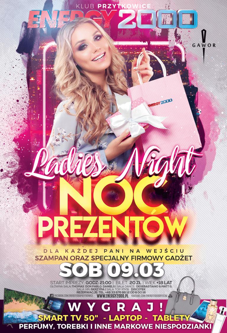 LADIES NIGHT ★ NOC PREZENTÓW