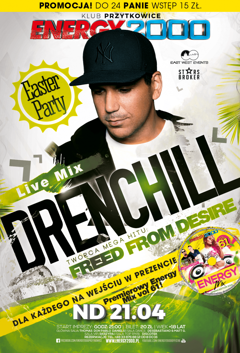 DRENCHILL ★ FREED FROM DESIRE ★ NIEDZIELA 21.04