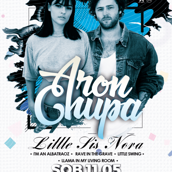 Aronchupa & Little SIS NORA ★ World Tour 2019