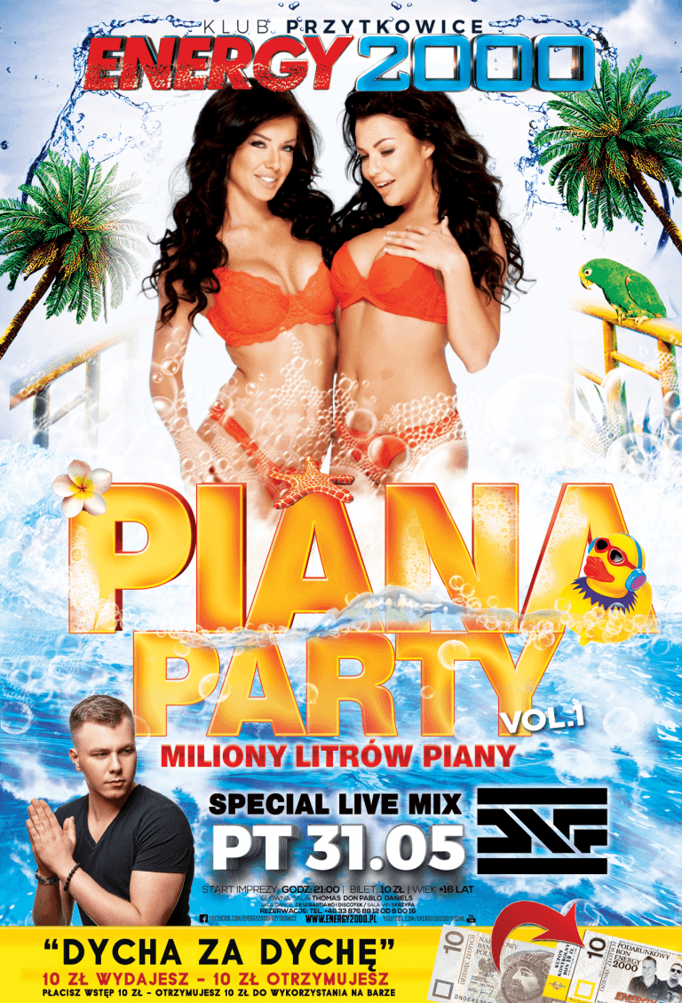 PIANA PARTY I ★ DNF ★ DYCHA ZA DYCHĘ!